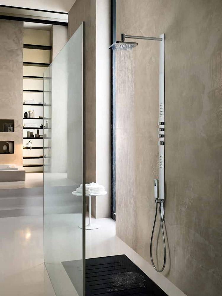 Gruppi doccia e vasca gruppo doccia loop da nobili for Gruppo doccia