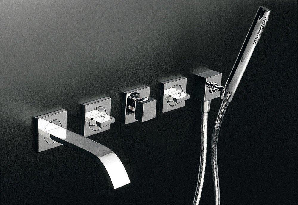 zucchetti armaturen f r dusche und wanne badewannenarmatur aguablu designbest. Black Bedroom Furniture Sets. Home Design Ideas