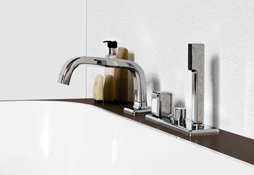 zucchetti armaturen f r dusche und wanne badewannenarmatur faraway a designbest. Black Bedroom Furniture Sets. Home Design Ideas