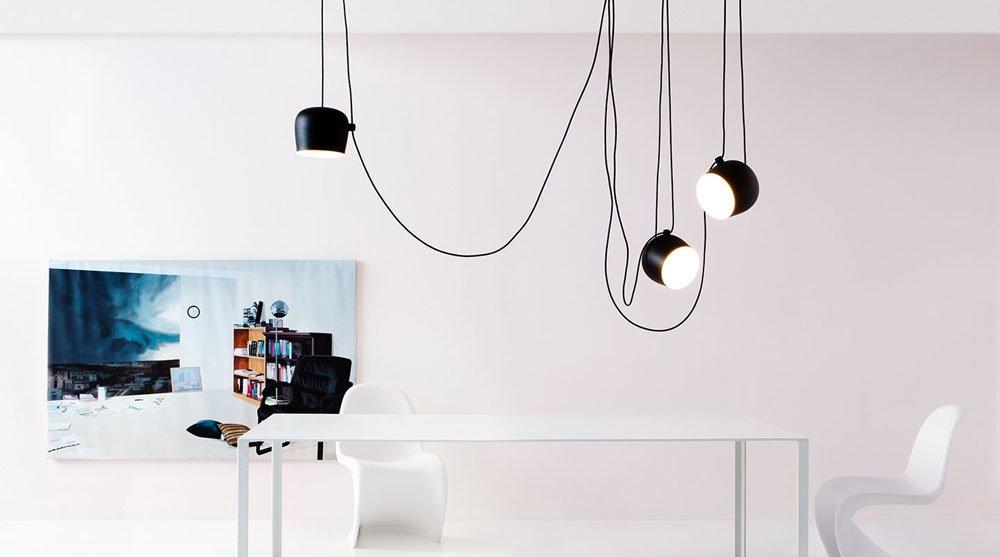 Lampade a sospensione lampada aim da flos for Flos aim 3 luci prezzo