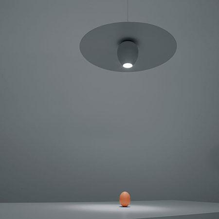 Lampada Ovonelpiatto