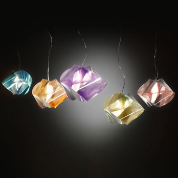 Luminaire Gemmy Suspension Prisma Color