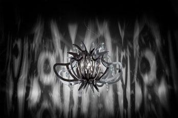 Lampada Medusa Pewter