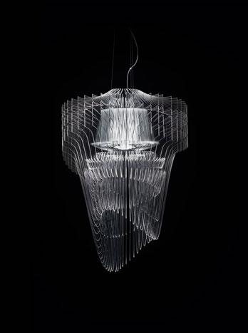 Lampada Aria Transparent