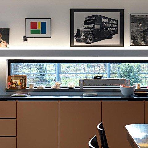 belux wandleuchten leuchte meter by meter | designbest - Lichtband Küche