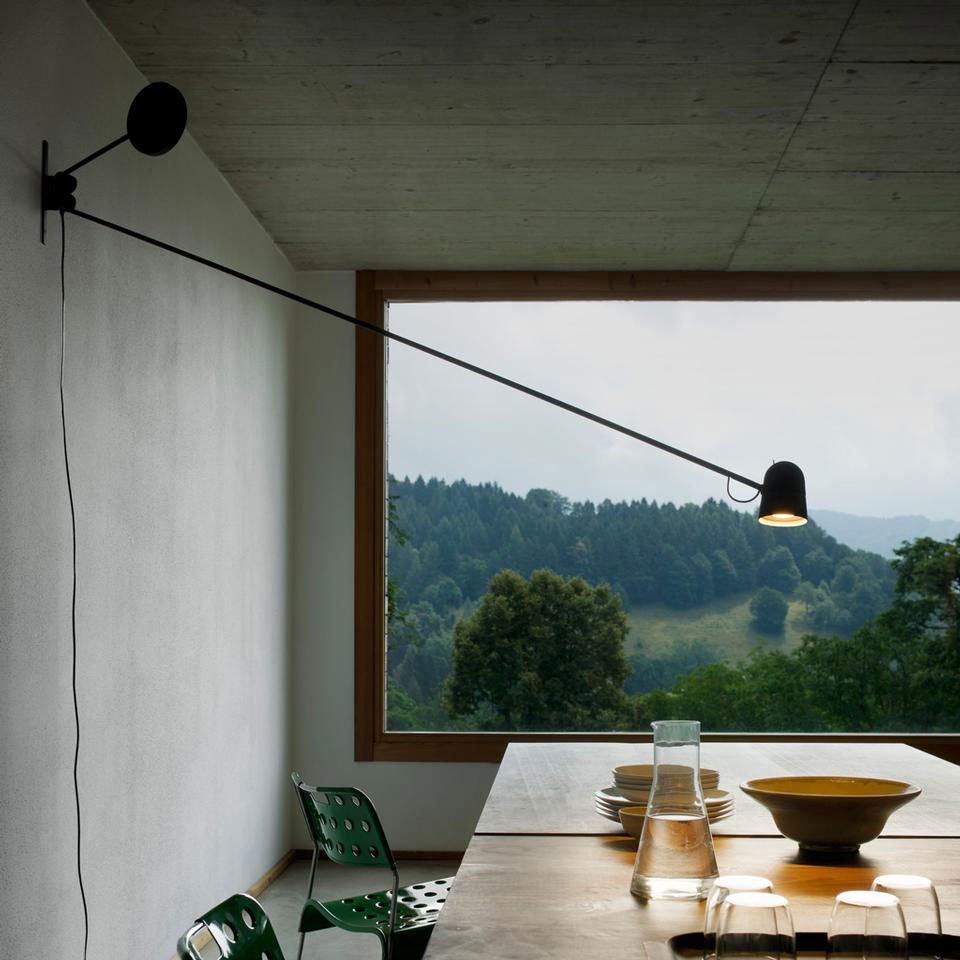 luceplan wandleuchten leuchte counterbalance designbest. Black Bedroom Furniture Sets. Home Design Ideas