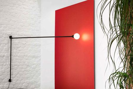 Lamp Potence Pivotante