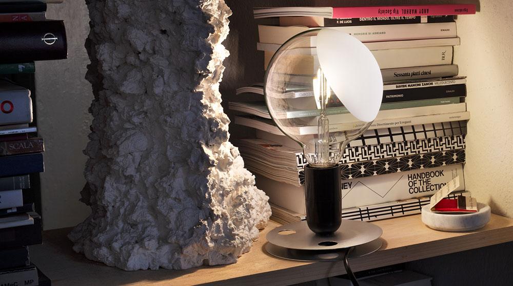 lampadina parentesi flos : Lampade da tavolo: Lampada Lampadina da Flos