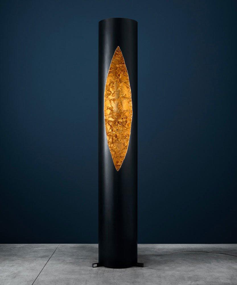 lampade da terra lampada colonna da catellani smith. Black Bedroom Furniture Sets. Home Design Ideas