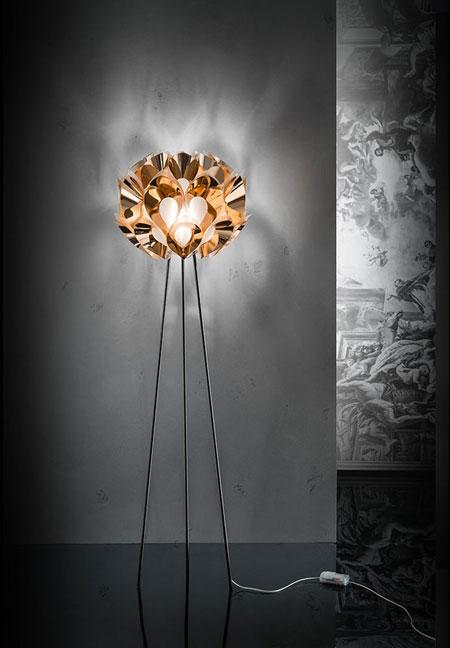Leuchte Flora Copper