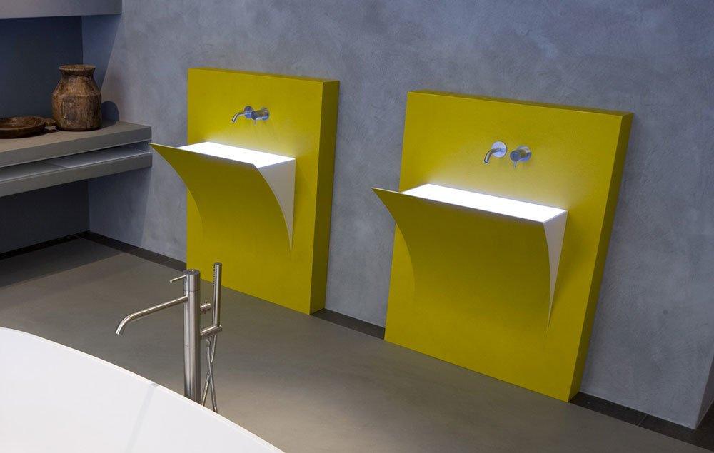 waschbecken waschtisch fuoristrappo von antonio lupi. Black Bedroom Furniture Sets. Home Design Ideas