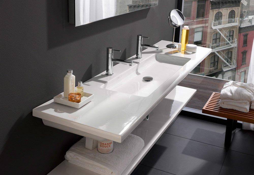 laufen waschbecken waschtisch living square designbest. Black Bedroom Furniture Sets. Home Design Ideas