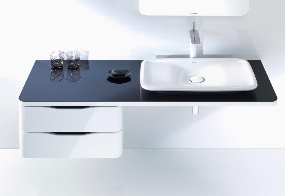 lavabo lavabo puravida da duravit. Black Bedroom Furniture Sets. Home Design Ideas
