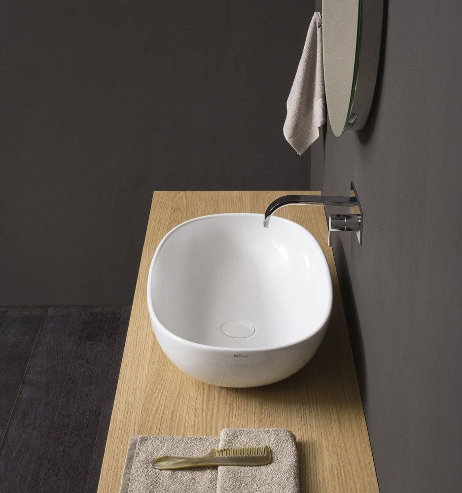 Lavabo lavabo milk a da nic design - Lavelli da bagno ...