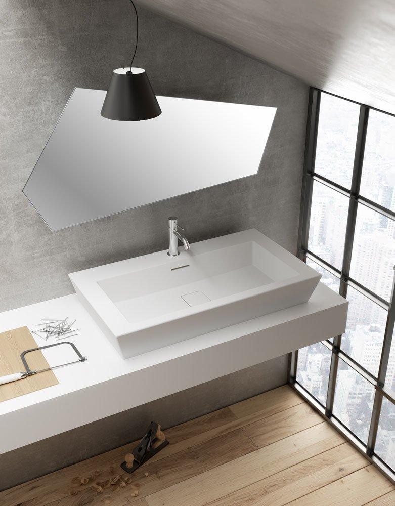 Lavabo lavabo paper da teuco for Vasca per papere