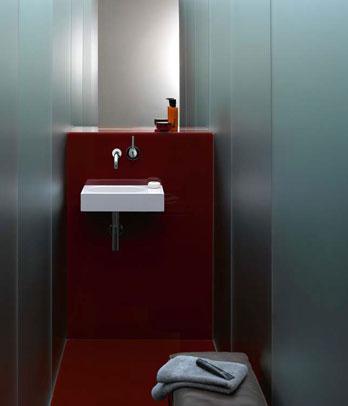 Waschbecken WT.XXS450.L