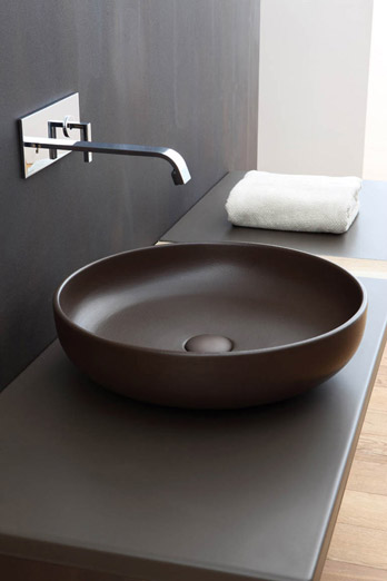 Washbasin on top bowl Cielo