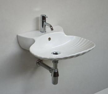 Waschbecken Shell
