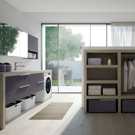 Mobile lavatoio Spazio Time 05