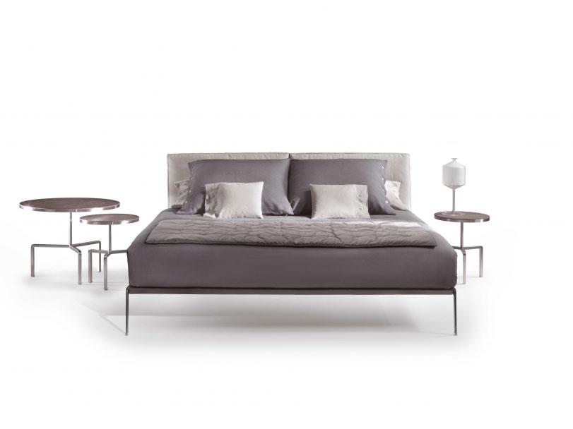 letti matrimoniali letto lifesteel da flexform. Black Bedroom Furniture Sets. Home Design Ideas