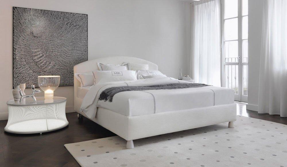Letti matrimoniali letto magnolia da flou - Camera da letto flou ...
