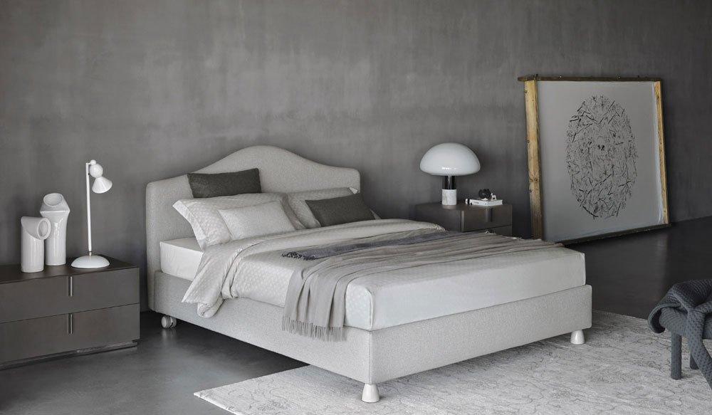 flou doppelbetten bett peonia designbest. Black Bedroom Furniture Sets. Home Design Ideas