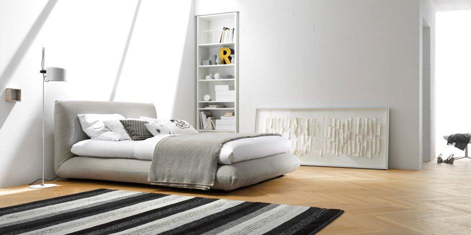 letti matrimoniali letto jalis da interl bke. Black Bedroom Furniture Sets. Home Design Ideas