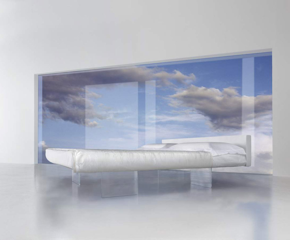 Double Beds: Bed Air by Lago
