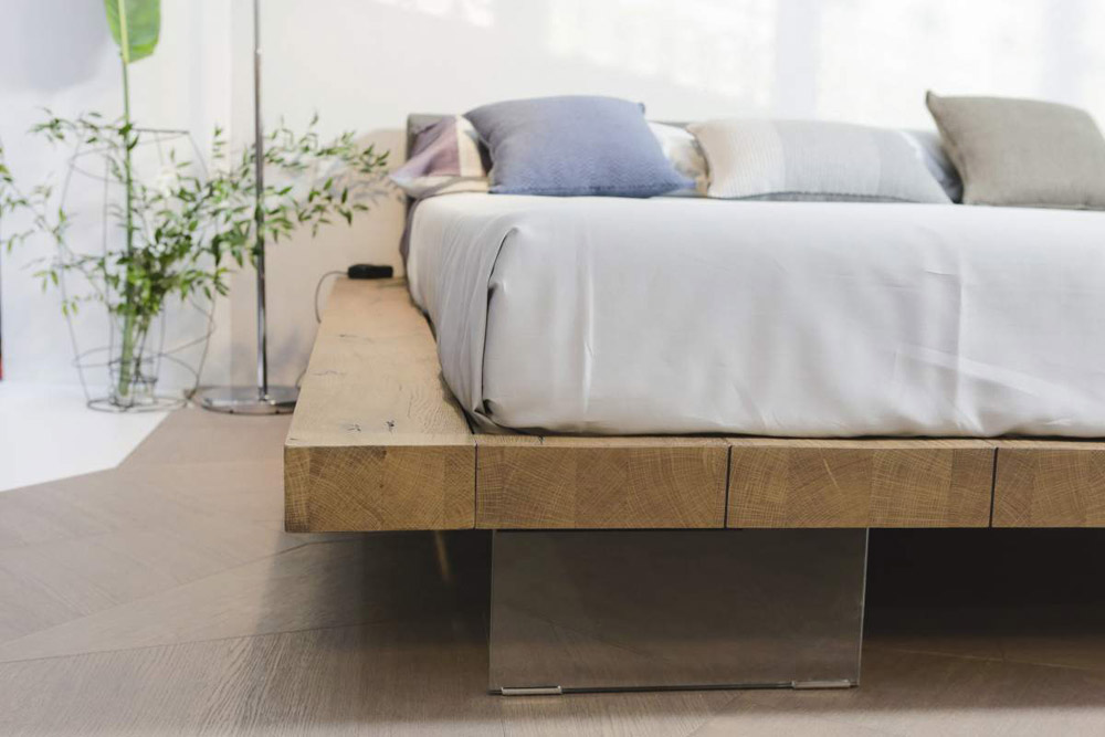 Double Beds: Bed Frame by Lago