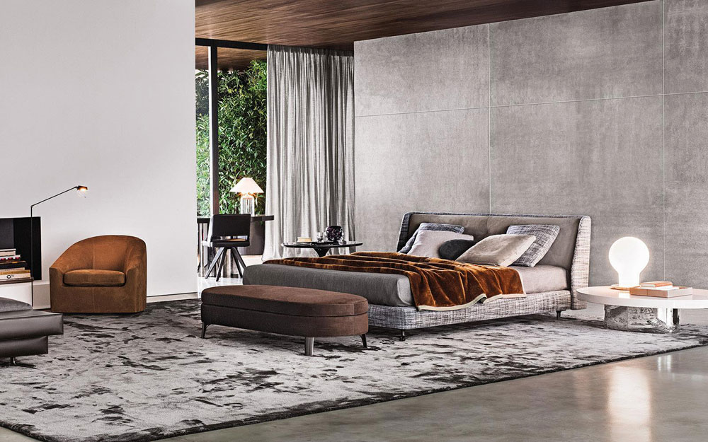 Double Beds Bed Spencer By Minotti