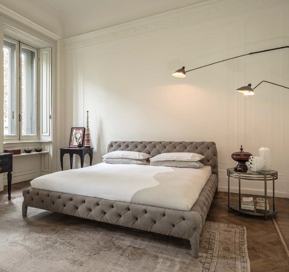 Double Beds: Bed Windsor Dream by Arketipo