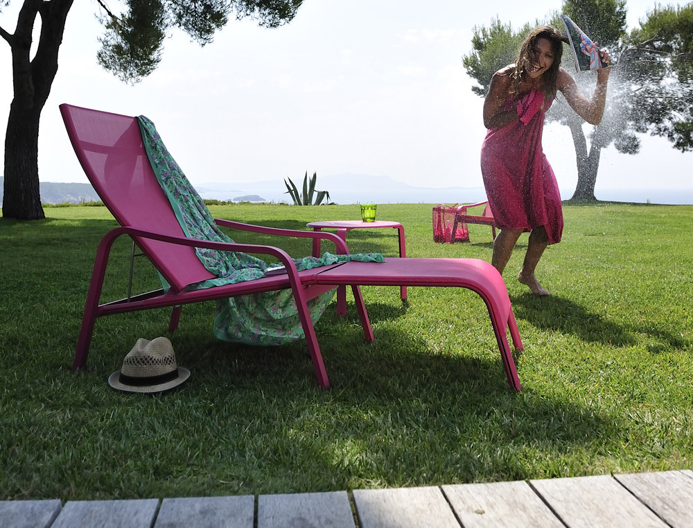 Sun Beds And Chaise Longue Sunbed Aliz By Fermob