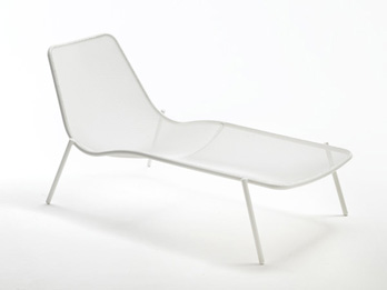 Chaise longue Round