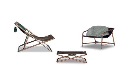 Chaise longue Rimini