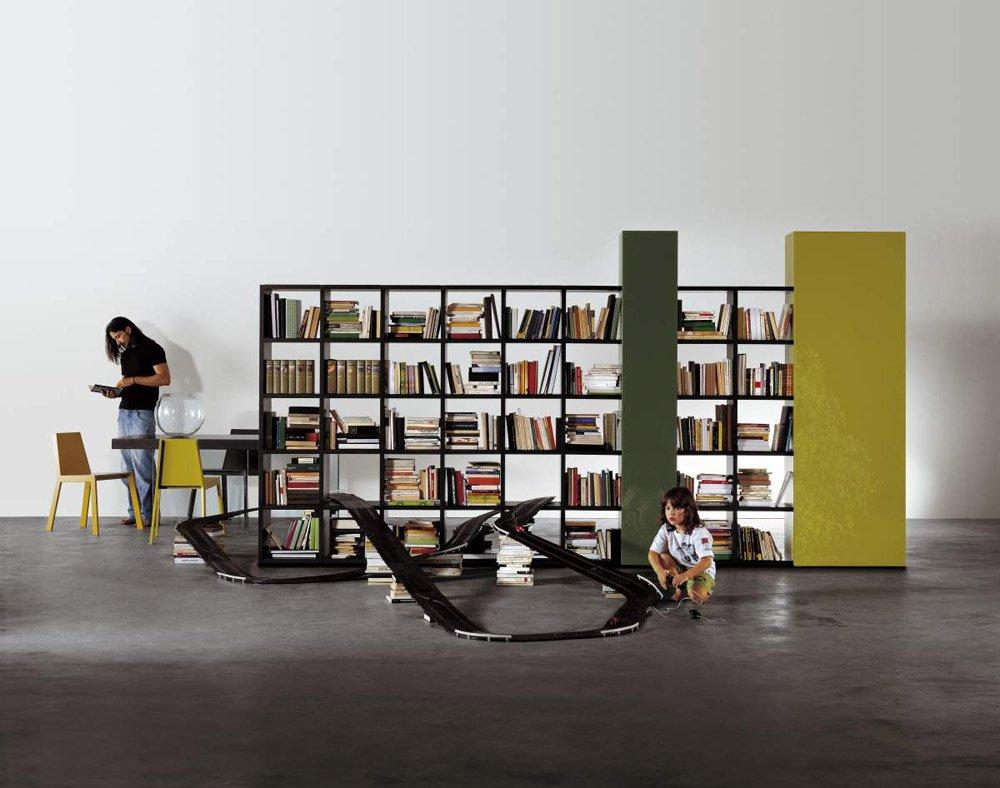 Librerie e scaffali libreria 30mm da lago for Lago librerie prezzi