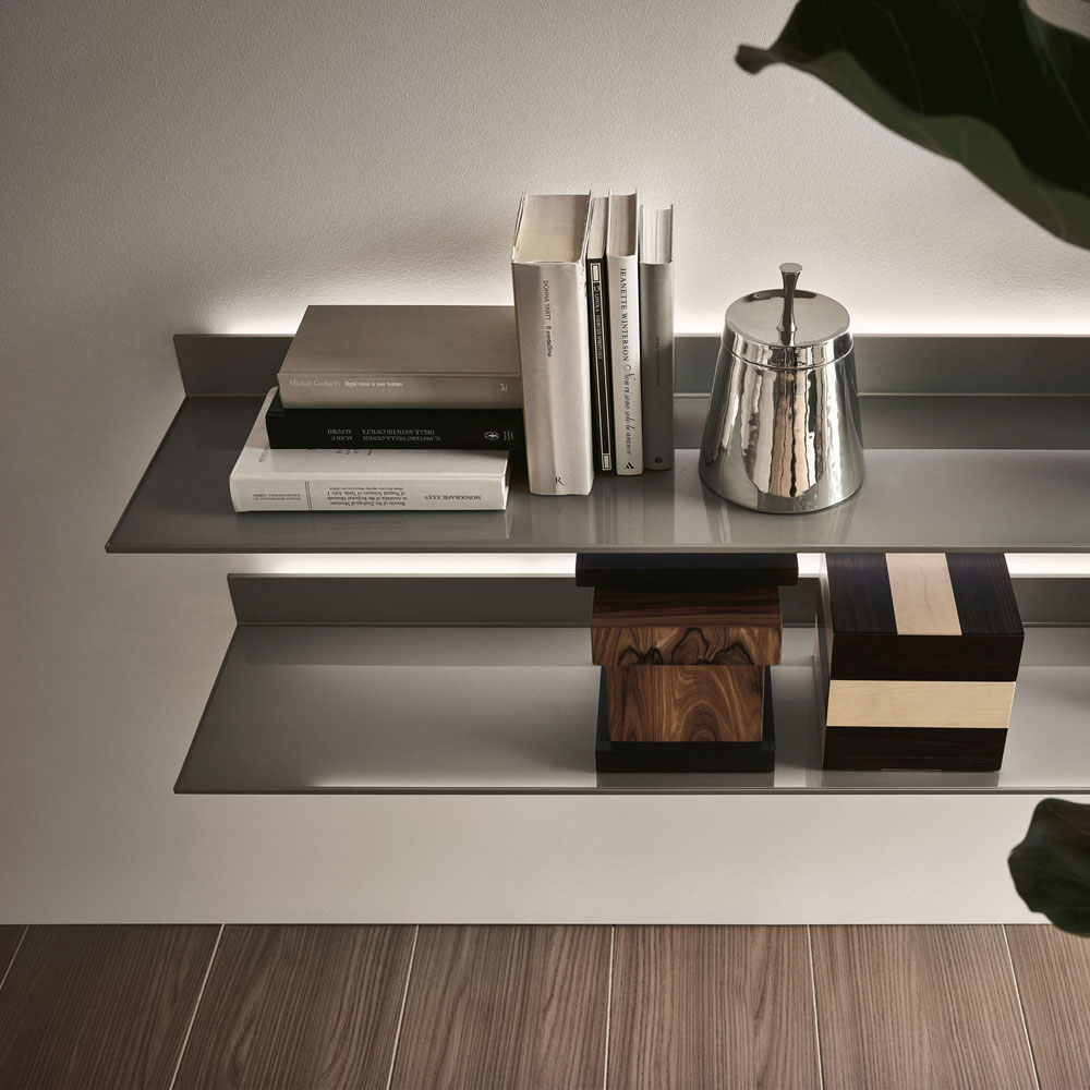 bookcases and shelving units bookcase eos by rimadesio. Black Bedroom Furniture Sets. Home Design Ideas