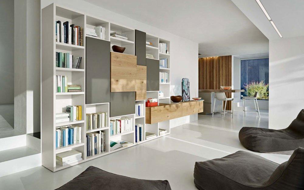 Composizioni soggiorno san giacomo tv unit and bookcase for Arredamenti seregno