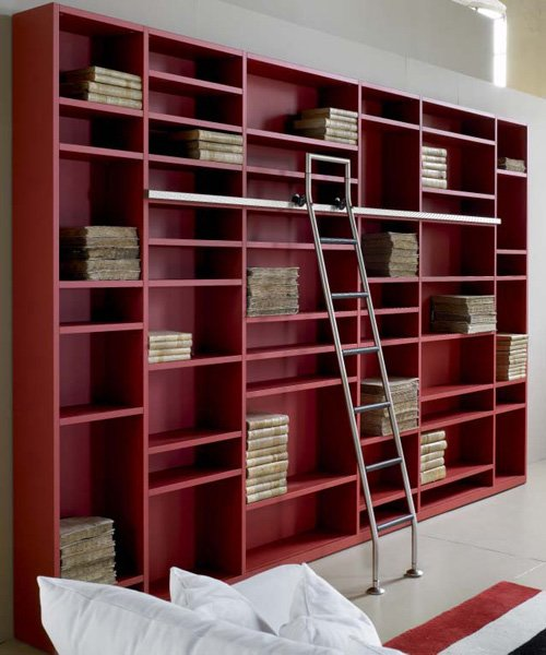 Bookcases And Shelving Units: Bookcase Metropolis [B] by Tisettanta