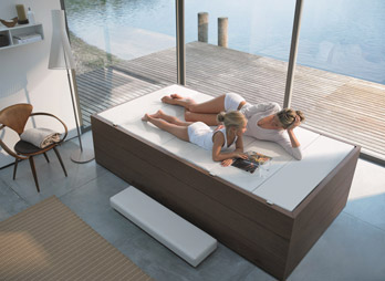 Hot Tub Sundeck