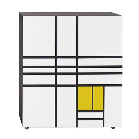 Aufbewahrungsmöbel Homage To Mondrian