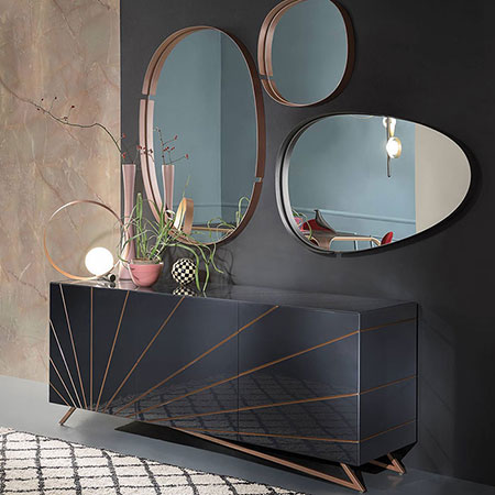 Sideboard Solaris by Riflessi