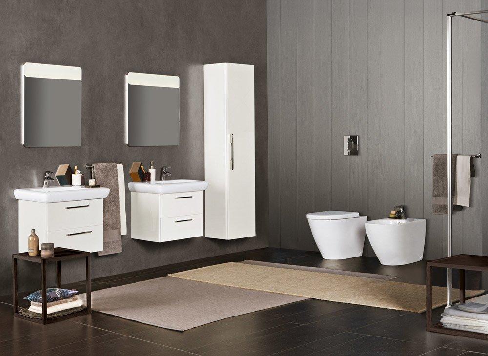 Mobili con lavabo composizione fast da pozzi ginori for Arredo bagno grosseto