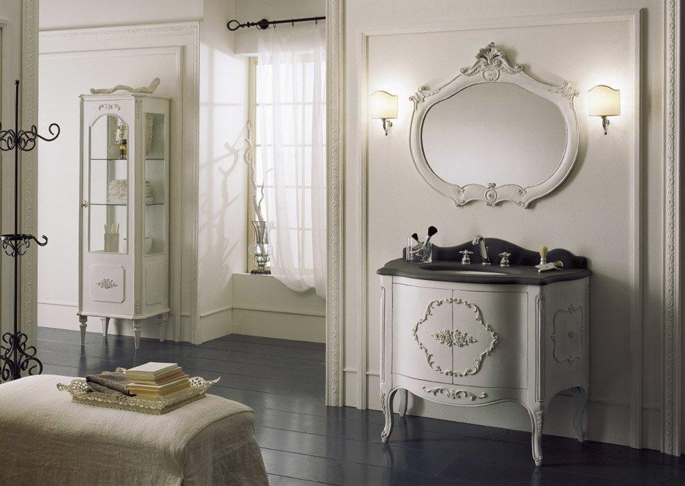 Mobili con lavabo composizione velazquez da mobili di - Mobili di castello bagno ...