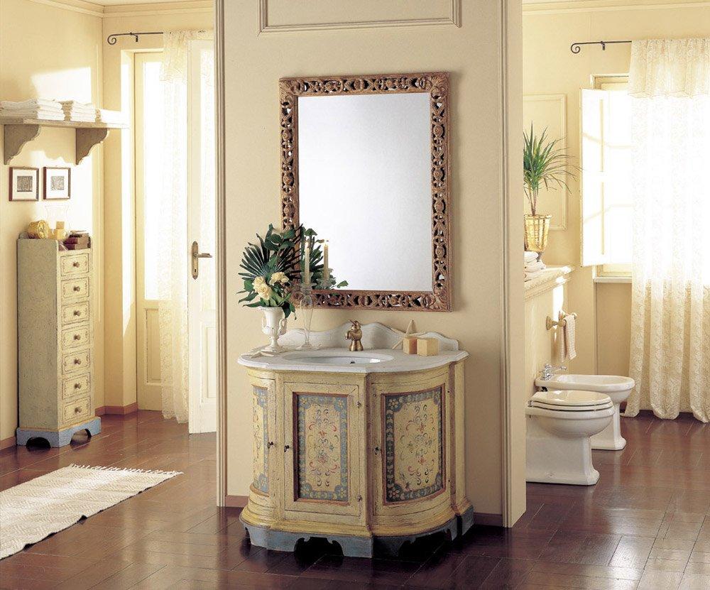 Mobili con lavabo composizione amorgos da mobili di castello - Mobili di castello bagno ...