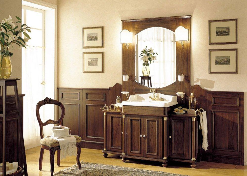 Mobili con lavabo composizione old england da mobili di castello - Sanitari bagno old england ...