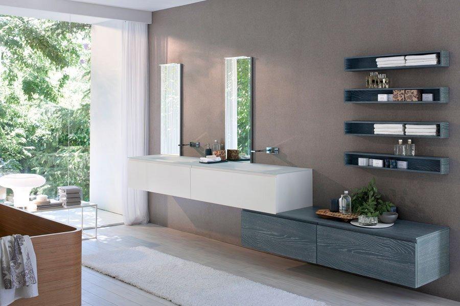 Mobili con lavabo composizione my seventy plus 06 da idea for Idea bagno trento