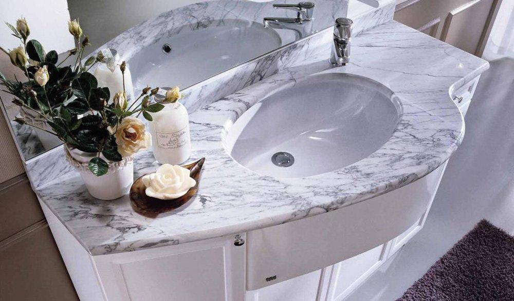 Mobili con lavabo composizione fenice 3 da idea for Idea bagno trento