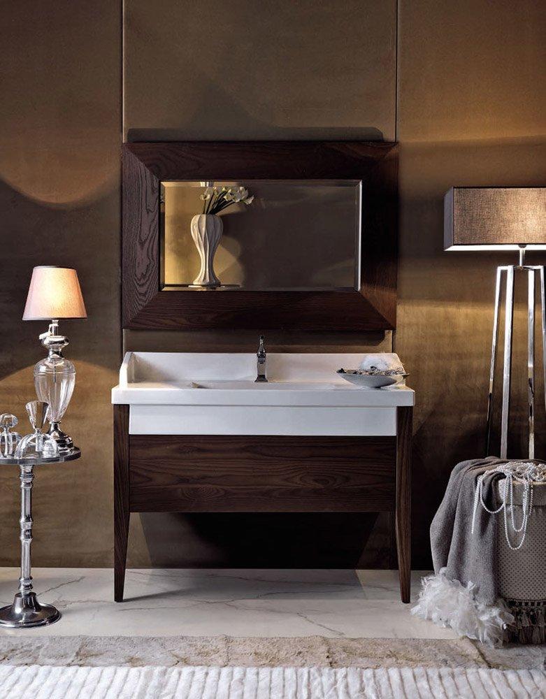 Kerasan waschtischm bel badezimmer serie bentley designbest for Badezimmer sets badausstattung