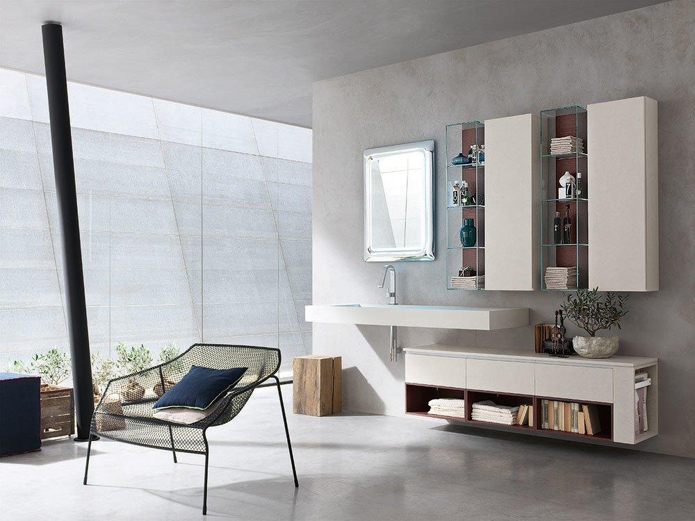 Mobili con lavabo: Composizione Pollock 47 da Arcom