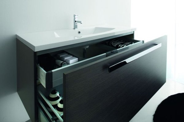Mobili con lavabo composizione matrix a da azzurra - Azzurra mobili da bagno ...